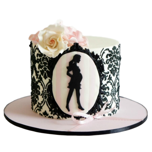 pregnant and fabulous cake 7