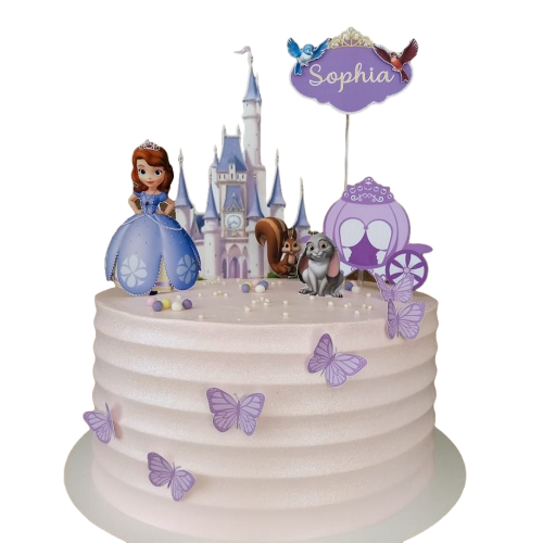 princess sofia cake 6 7
