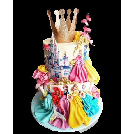 disney princesses cake 2 6