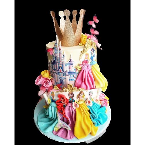 disney princesses cake 2 7