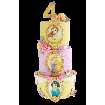 Princesses Cake 3