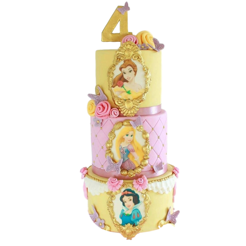 princesses cake 3 7
