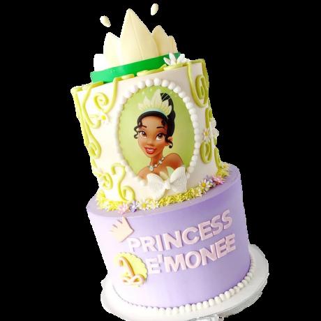 princess tiana cake 6