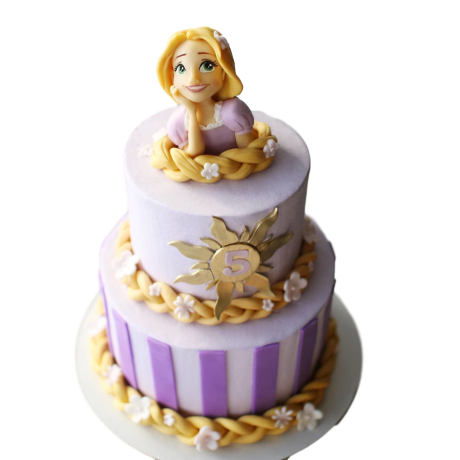 rapunzel cake 6 6