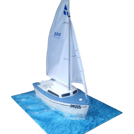 sailing boat cake 2 6