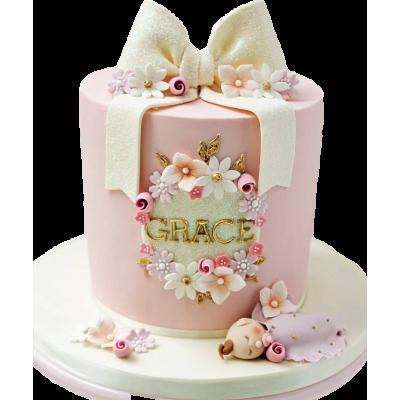 Sleeping baby cake 1