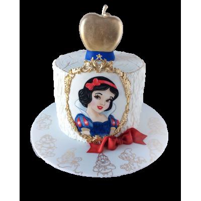 Snow White Cake 1
