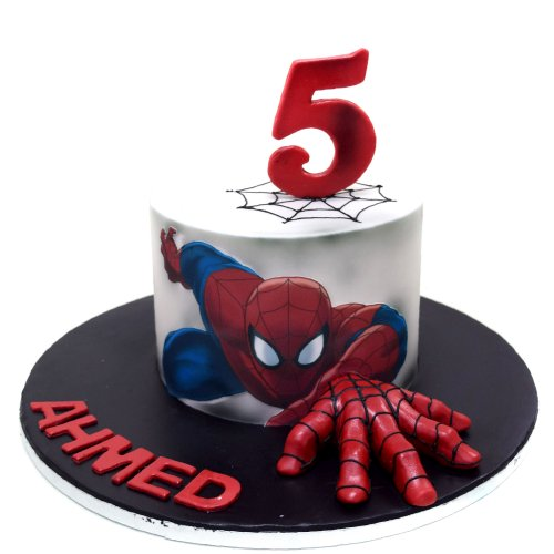 Spiderman Cake 31