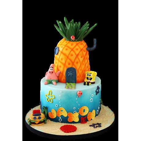 Sponge Bob Cake 5