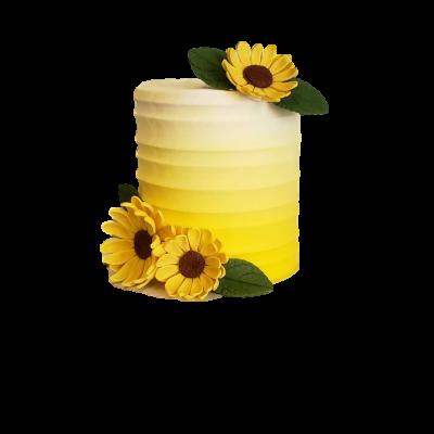 Sunflower cake 1