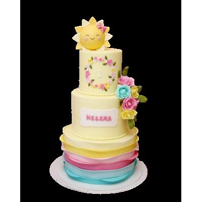 Our sunshine cake