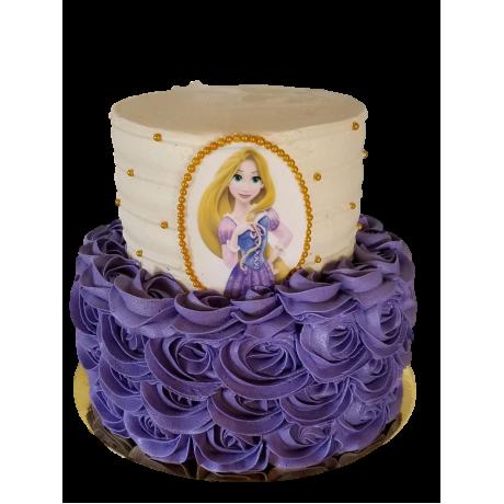 tangled rapunzel cake 2 6