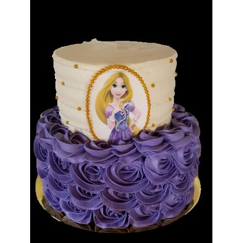 tangled rapunzel cake 2 7