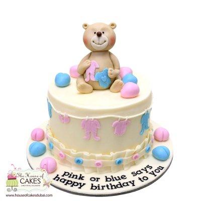 Teddy Bear Cake 10