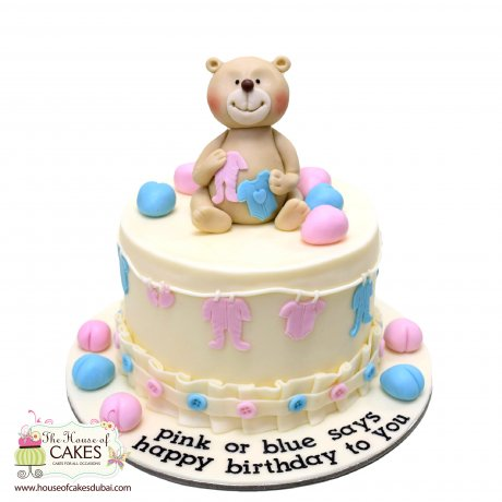 teddy bear cake 10 6