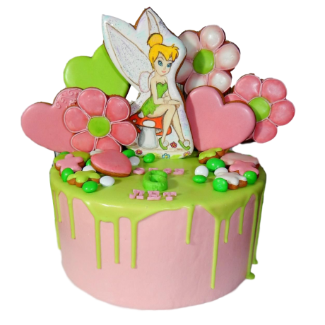 cake tinkerbell 4 6