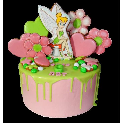 cake tinkerbell 4 7