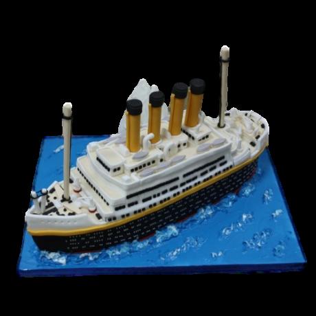 titanic cake 12