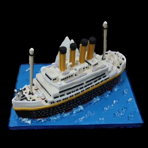 titanic cake 13