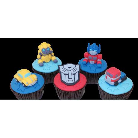 cupcakes transformers 6