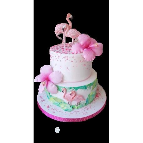 hawaiian cake and cupcakes 2 6
