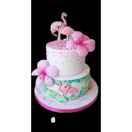 hawaiian cake and cupcakes 2 7