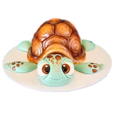 Cute Turtle Cake