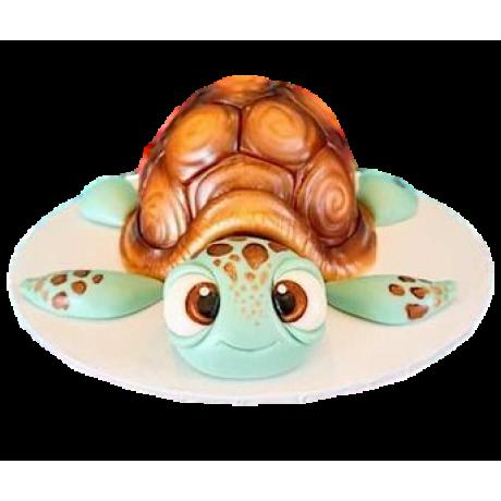 cute turtle cake 6