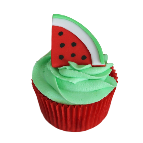 watermelon cupcakes 7