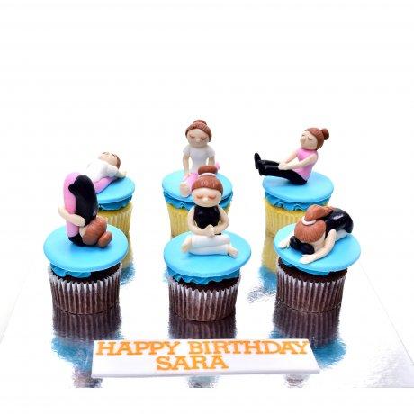 yoga cupcakes 6