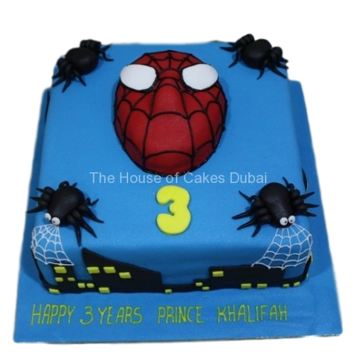 spiderman cake 14 7