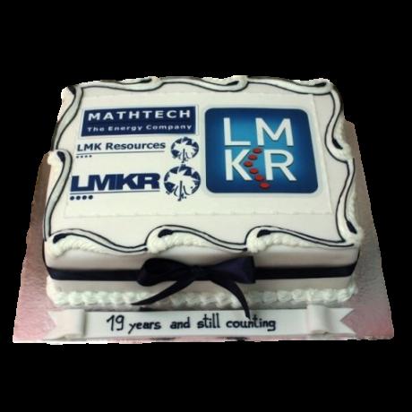 company logo cake 6