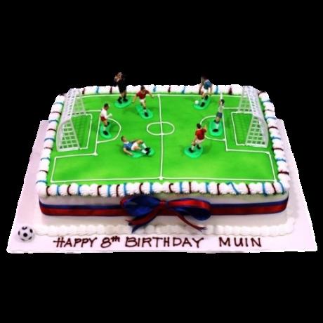 football pitch cake 1 6