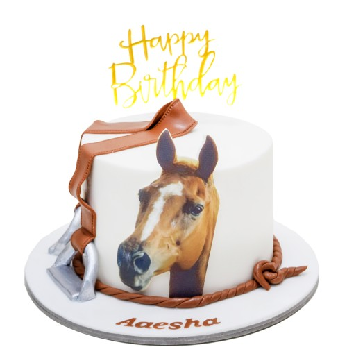horse cake 3 8