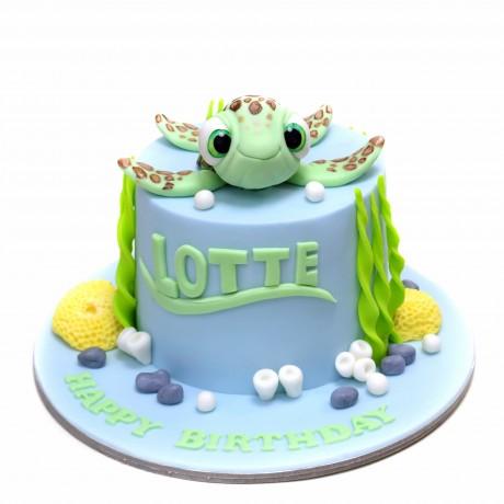 cute turtle cake 2 6