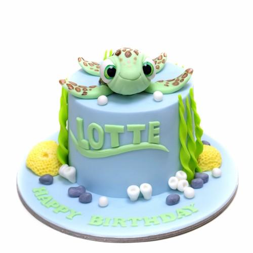cute turtle cake 2 7