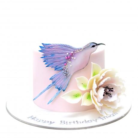 Hummingbird cake - pink