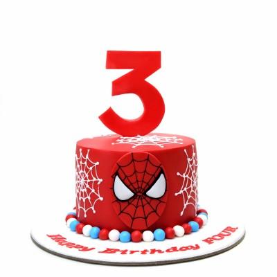 Spiderman Cake 34