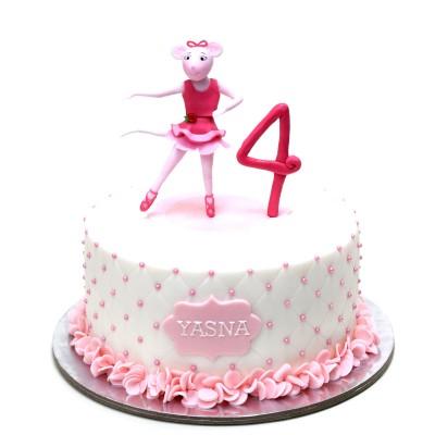 Angelina Ballerina Cake 3
