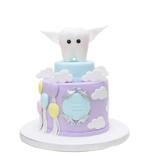 first tooth cake 6 7