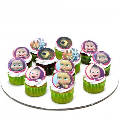masha and bear cupcakes 13