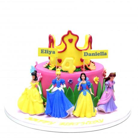 disney princesses cake 18 6