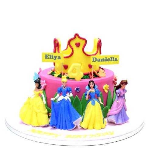 disney princesses cake 18 8