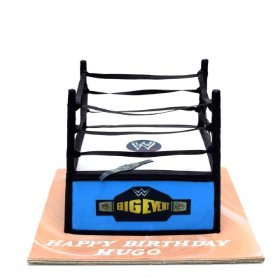 WWE ring cake