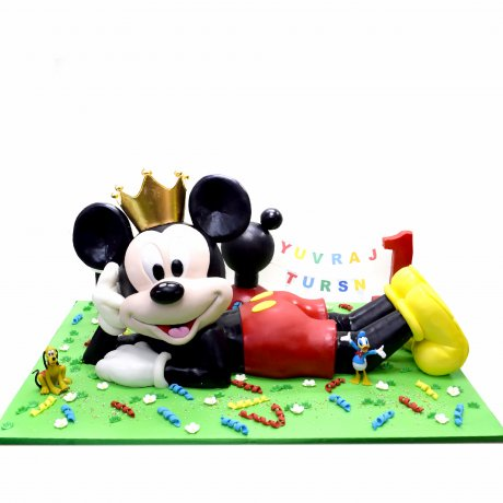 3d mickey mouse cake 6