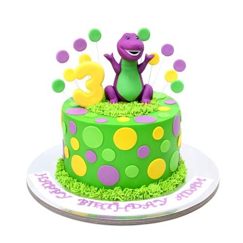 Barney Cake 1