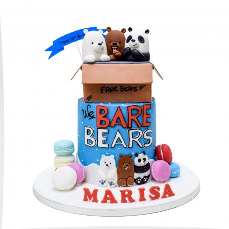 bare bears cake 6