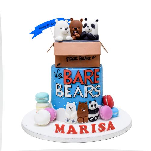 bare bears cake 7