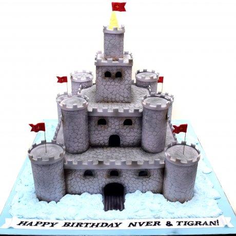 castle fort cake 13