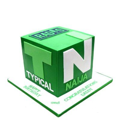Radio TN cake